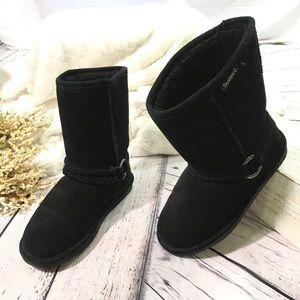 Bearpaw adele suede sheepskin lining boots